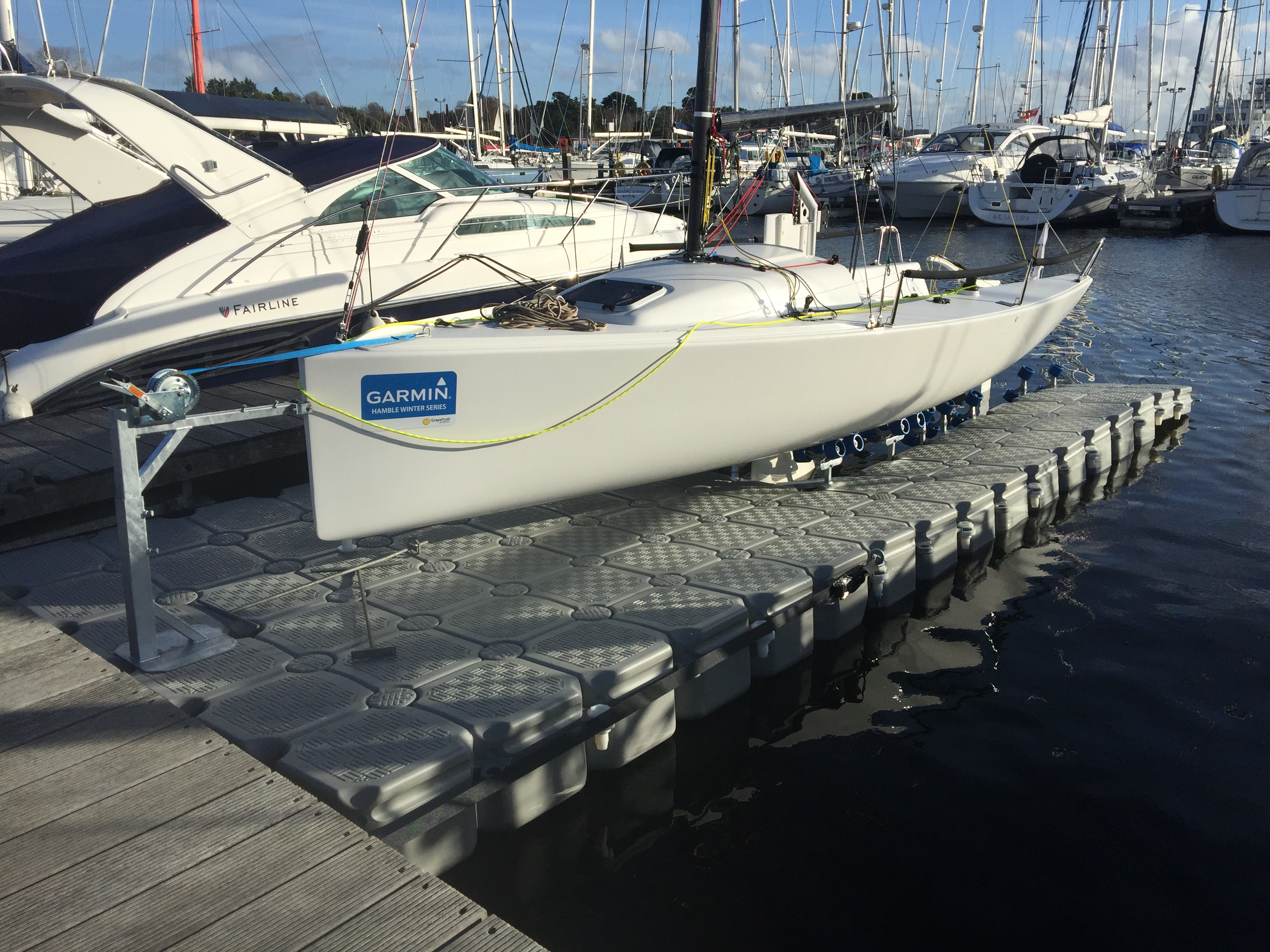 Drysail V2 A New System For Modern Day Lifting Keel