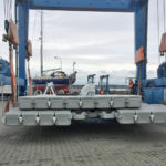 launching drysail dock
