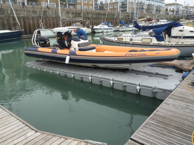 We Guarantee To Float Any Boat Up Three Tonnes With A Versadock Designed And Installed Static Drive On Dock For Maintenance Free Berthing That You Can