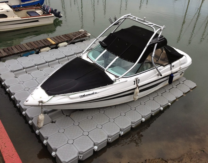 Perfect for small motorboats