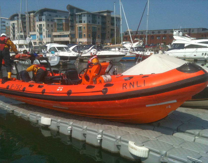 RNLI on Static Dock